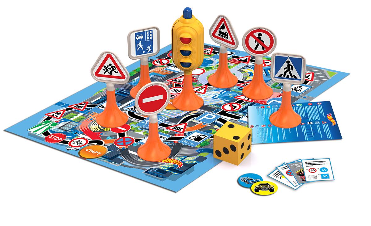 ХОТ ВИЛС: Правила дорожного движения «Дорога без опасности» - Размеры коробки(ДхШхВ)29 x 24 x 8.5 cm