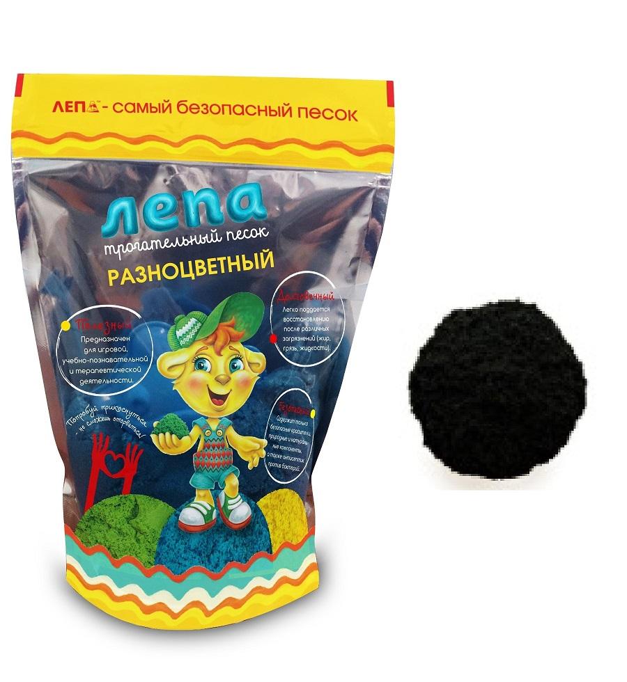 Песок Лепа Черный 0,5кг -