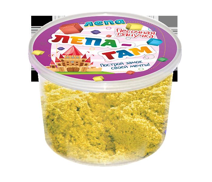Лепа-Гам желтый 0,2 кг - Песочная тянучка