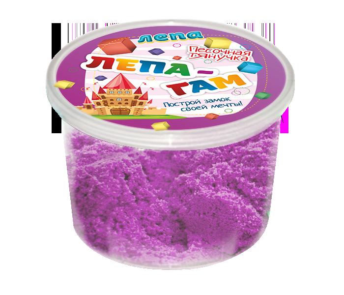 Лепа-Гам фиолетовый 0,2 кг - Песочная тянучка