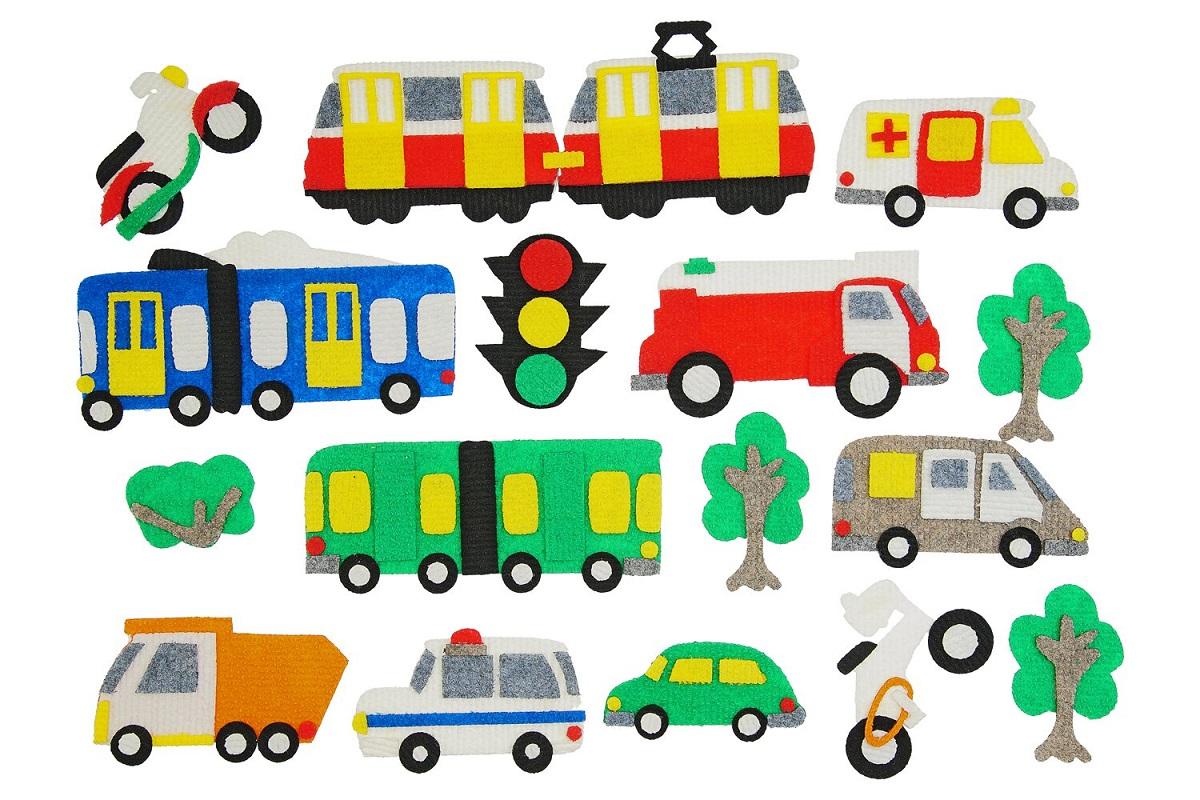 Игры из ковролина Транспорт -