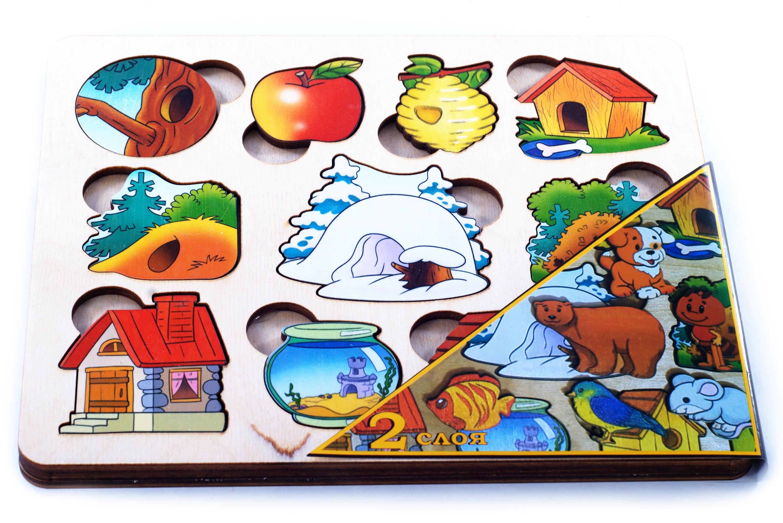 Пазл-рамка для малышей