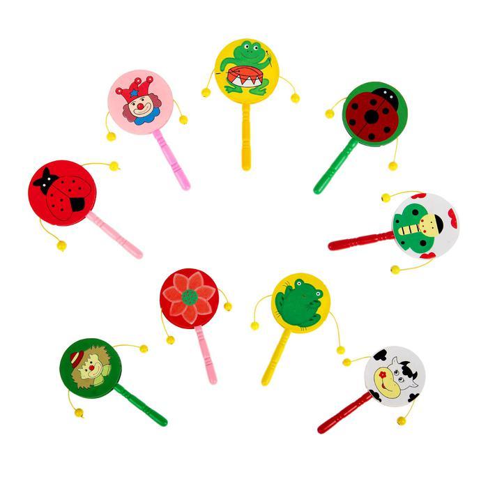 Игрушка музыкальная колотушка микс 18*8*1 - Внимание! Цвет в поставке не гарантируется. Наличие цветов спрашивайте у менеджера. Цена указана за 1 штуку.