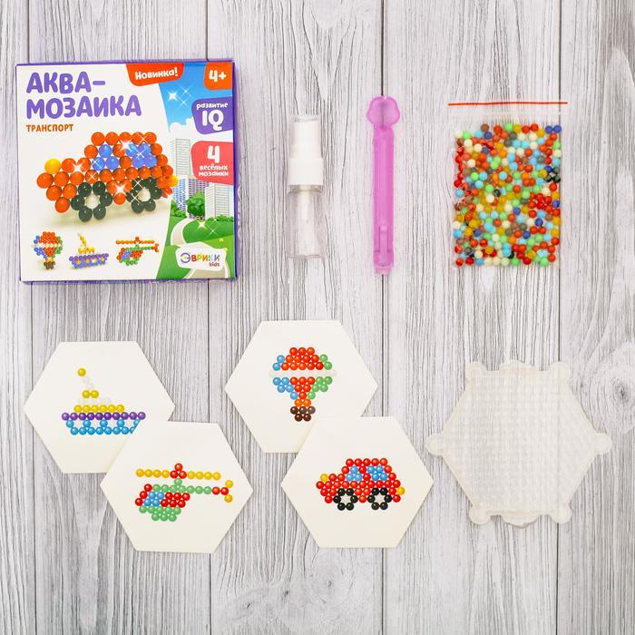 Аквамозаика для детей