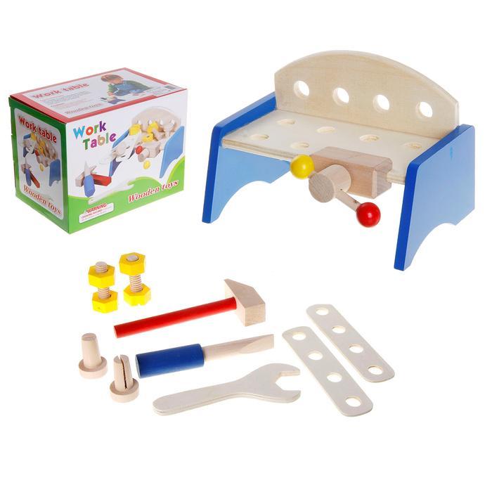 Верстак с набором инструментов - 9 предметов