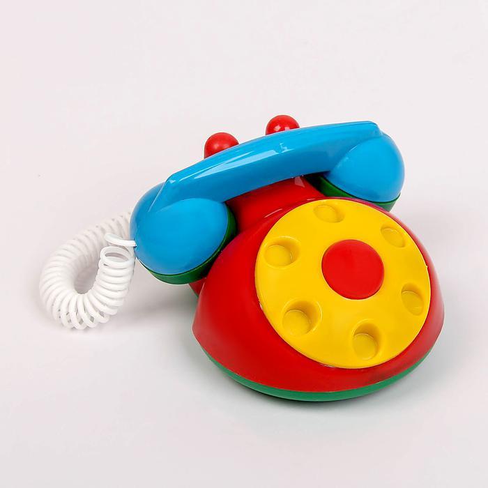 Телефон детский МИКС - Размер  14 см × 8 см × 9 см