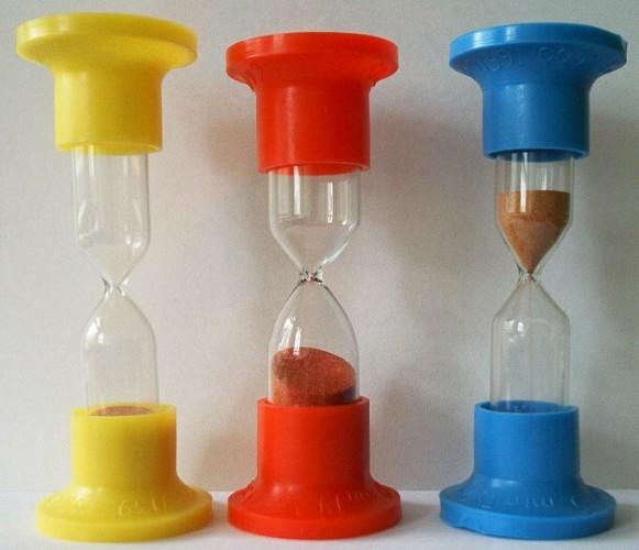 Часы песочные настольные (1 мин.) -