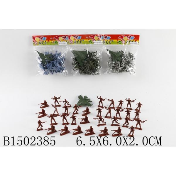 Набор солдатиков с аксесс.,в ассорт. арт.B1502385 - Высота 4 см.