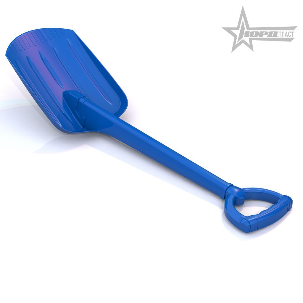 Нордпласт Лопата 70 см синяя - длина лопаты — 70 см