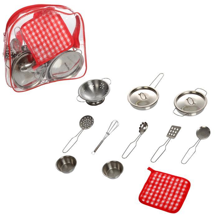 Набор метал. посуды