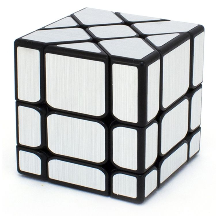 Головоломка FANXIN 581-5.7P Кубик Фишер Серебро/Золото - Головоломка для тех, кто уже уверенно собирает кубик Рубика. Fisher Cube — разновидность классического куба 3×3. Идея этого куба еще в 80-х была предложена Тони Фишером, известным изобретателем механических головоломок. Это популярный шейпмод (shape modif