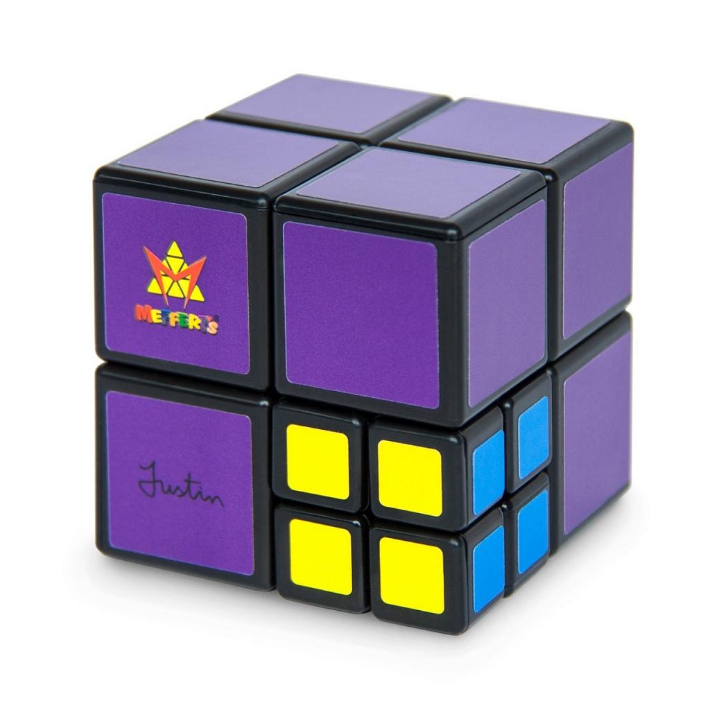 Головоломка MEFFERT'S M5815 МамаКуб - Большой одноцветный кубик 2×2 у которого вместо одного из элементов мини-кубик 2×2, но уже разноцветный!