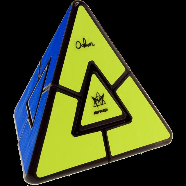Головоломка MEFFERT'S M5822 Пирамидка Дуэль - Пирамидка — это хорошая головоломка для новичков и самых юных головоломщиков. Она легко крутится, у нее интуитивно-понятная задача и ее может решить даже ребенок, не прибегая к формулам и подсказкам.