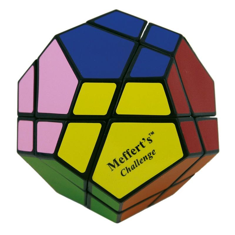 Головоломка MEFFERT'S М5034 Скьюб - Это самая сложная разновидность Скьюба — версия Ultimate у которой 12 цветов и хотя это в 2 раза больше чем у кубика Рубика, не стоит делать поспешных выводов о ее сверх-сложности.
