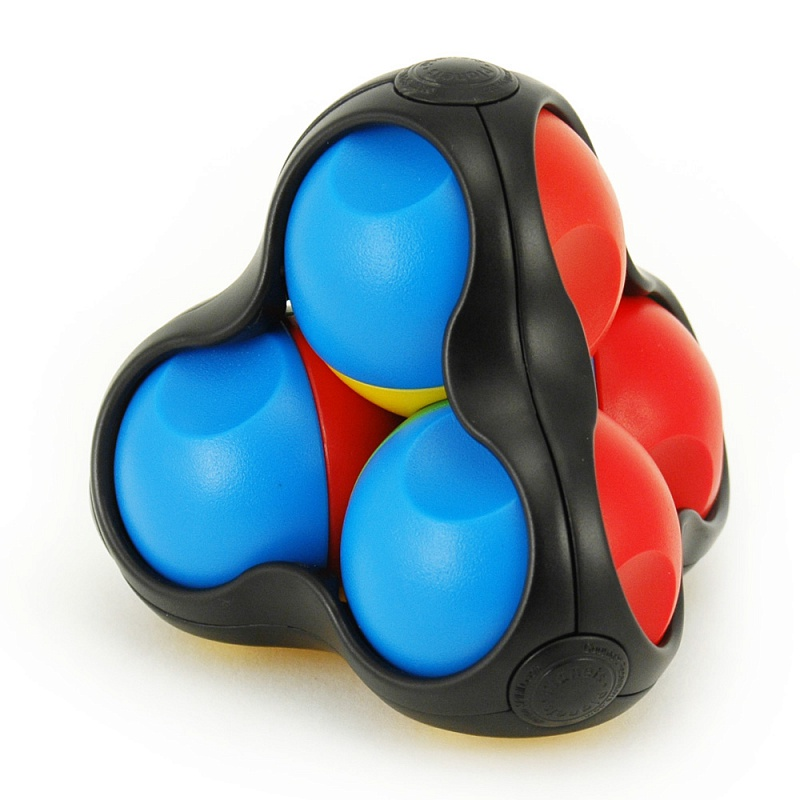 Головоломка RECENT TOYS RT07 Парад Планет - Цель игры: Нужно собрать одинаковые цвета на каждой из четырех сторон игрушки
