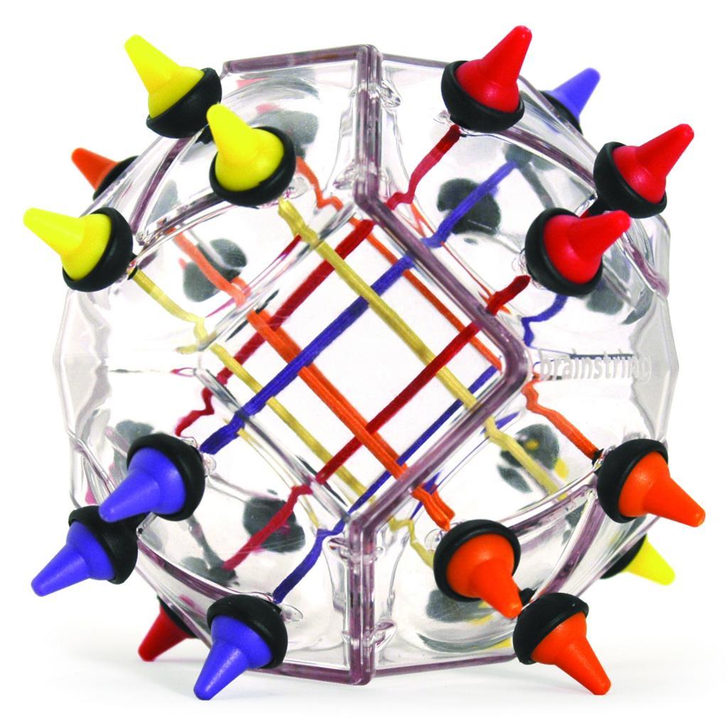 Головоломка RECENT TOYS RT19 Узел - Цель игры: Нужно собрать одинаковые цвета на каждой из четырех сторон игрушки