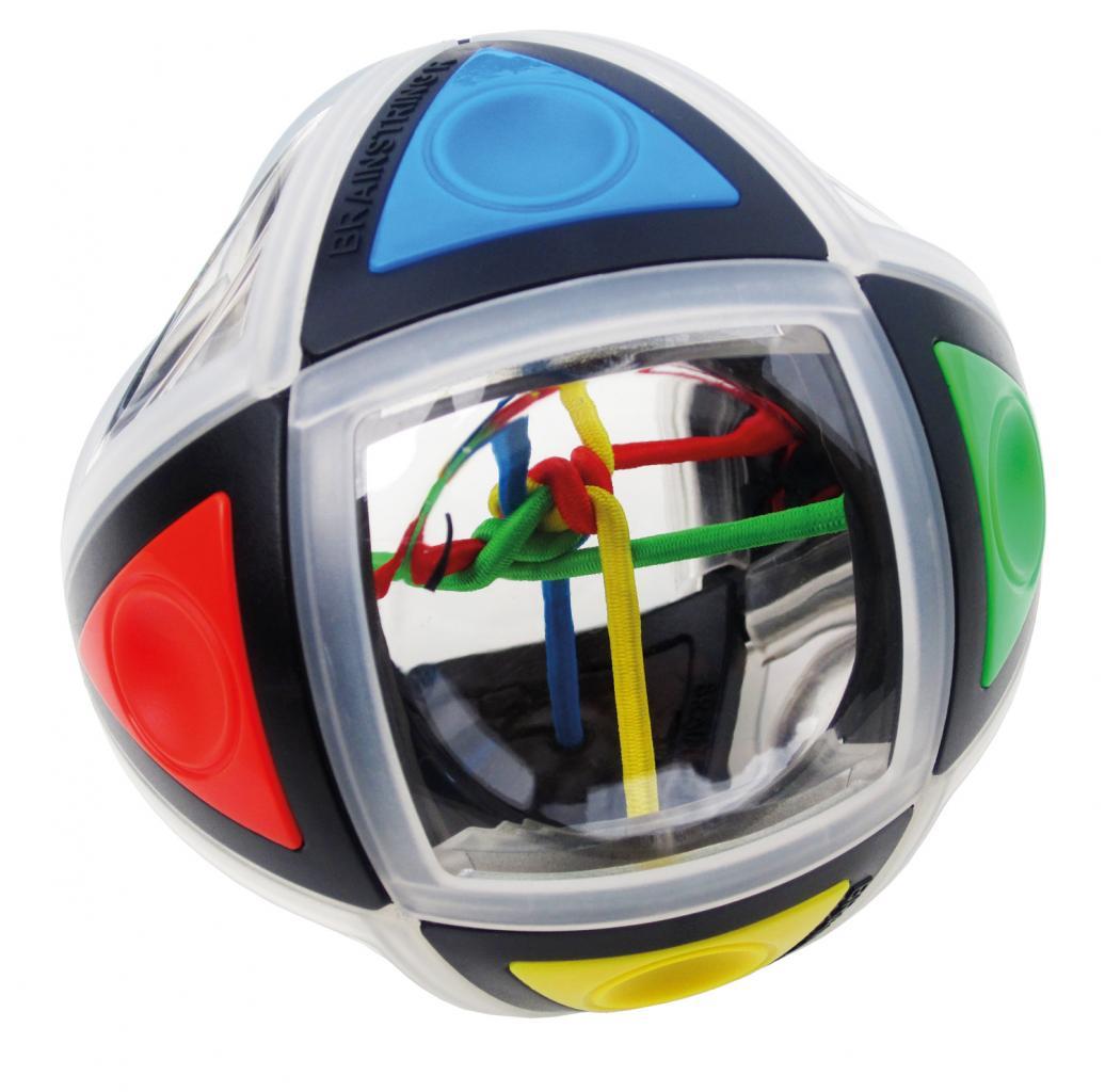 Головоломка RECENT TOYS RT47 Brainstring R - Дальнейшее развитие идеи лучшей игрушки голландского бренда Recent Toys — УЗЛА. Однако, на этот раз авторы сделали большой и очень интересный шаг в сторону кубика Рубика. Задача осталась та же, но заметно усложнилась: теперь распутать цветные нити можно т