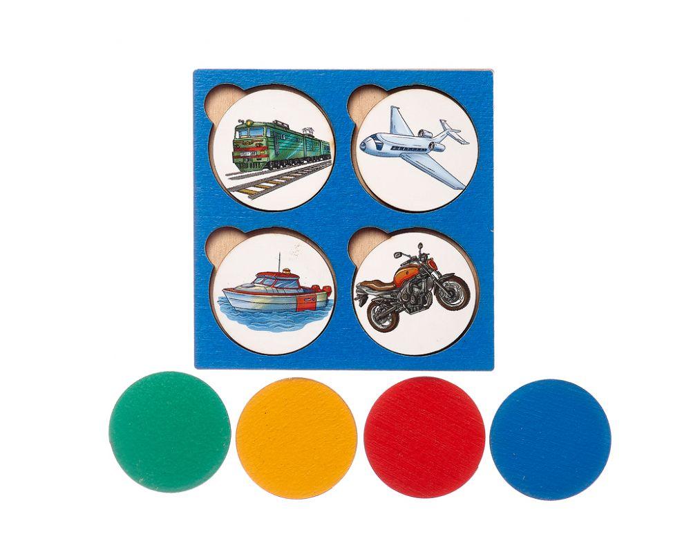 Запоминалки Транспорт - Простая и полезная игра для развития внимания и памяти; для изучения понятий