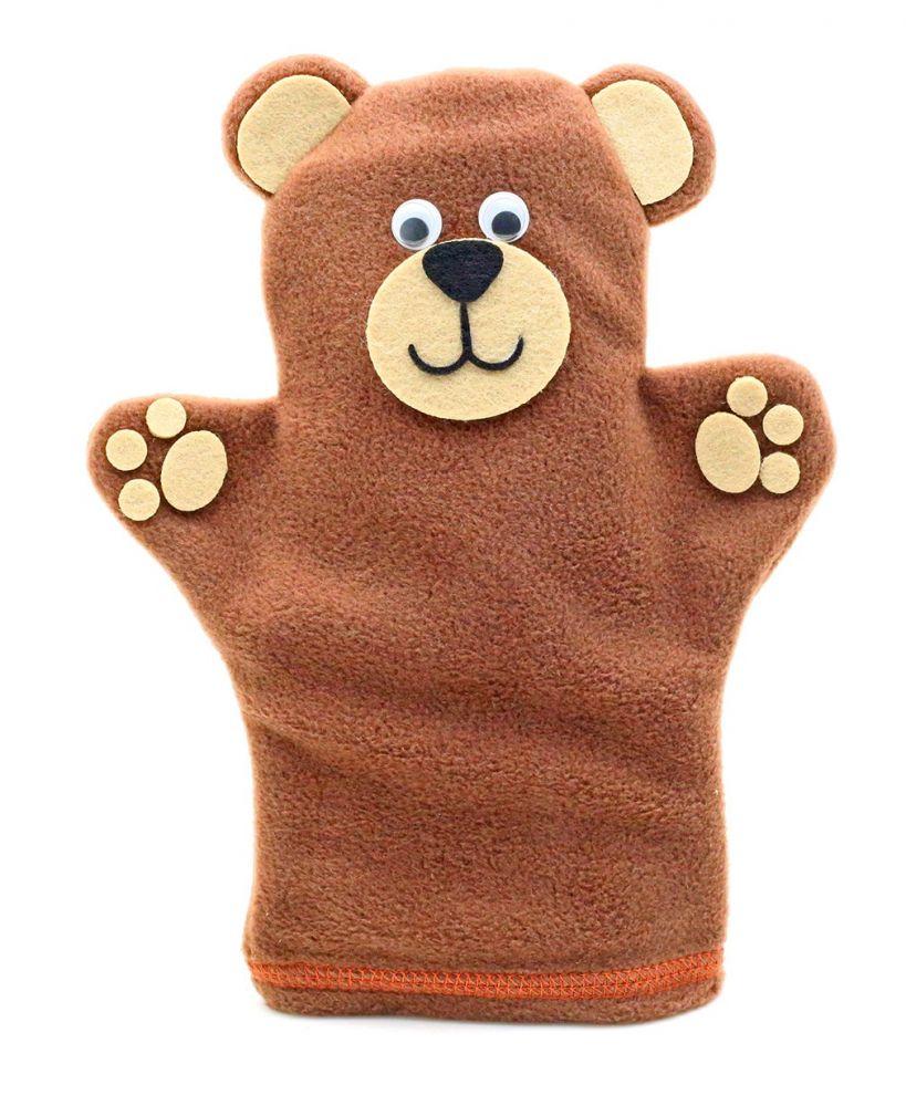 Кукла на руку Мишка - Размер: 25 см*19 см