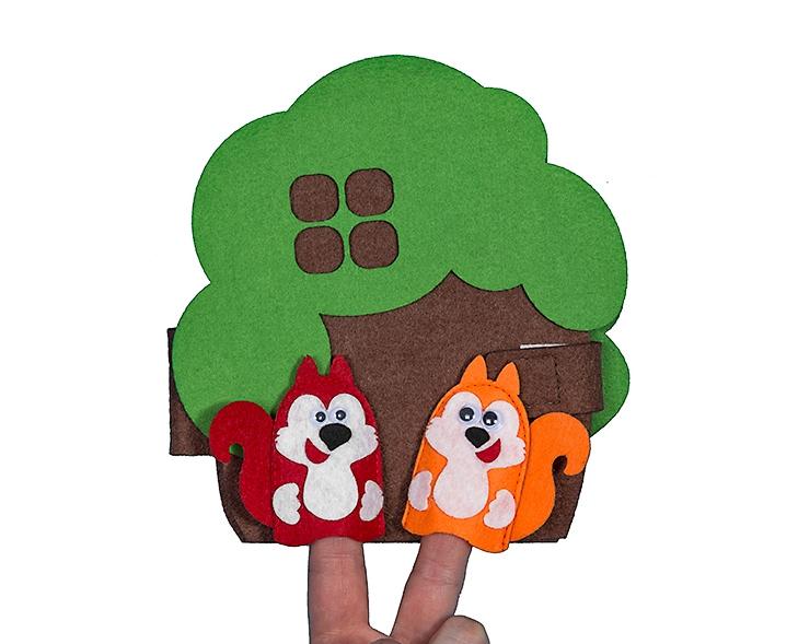 Чудо-дом Дерево - Размер дерева: 17 см*16 см Размер 6,5 см*6,5 см