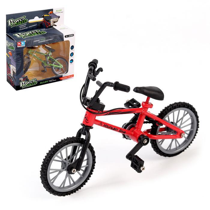 Пальчиковый велосипед BMX, металлический -