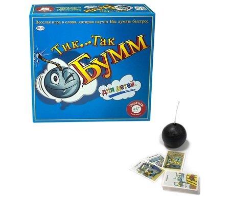 Тик Так БУММ для детей арт.798191 - - возраст: От 5 лет - количество игроков: от 2