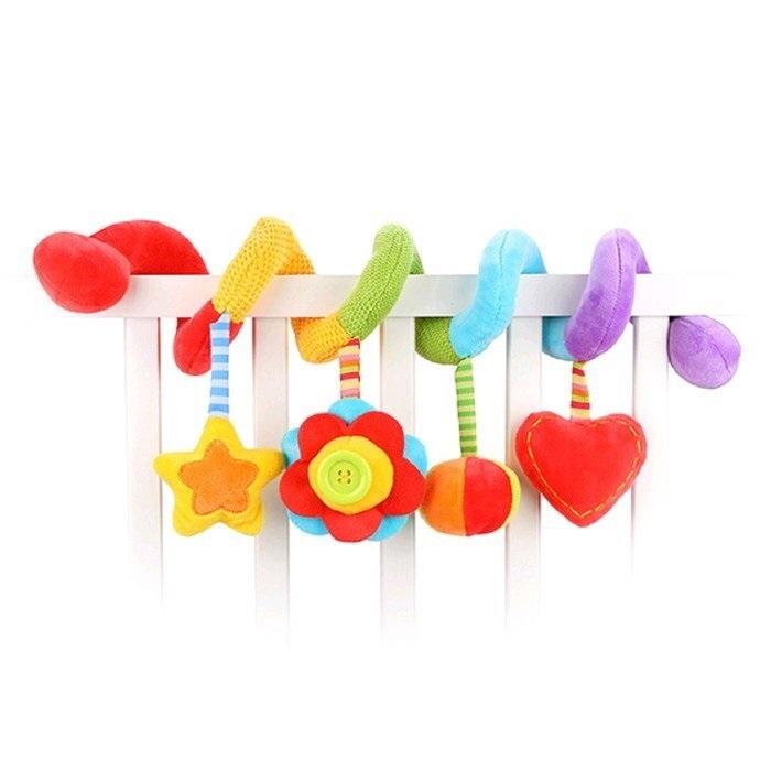 Растяжка с развивающими игрушками