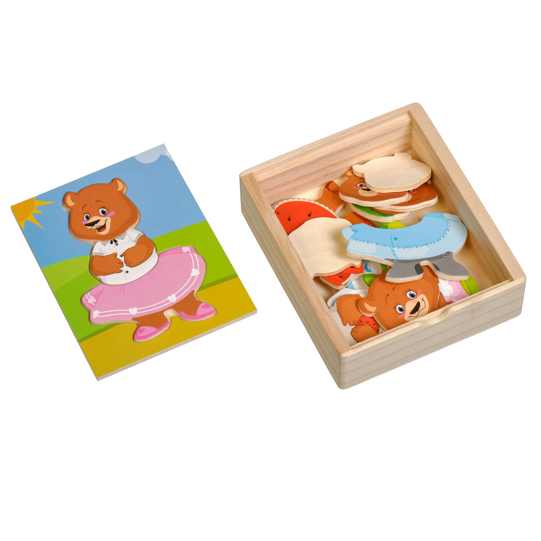 Медвежонок Катя - Рамка для медвежонка, который состоит из трех частей.