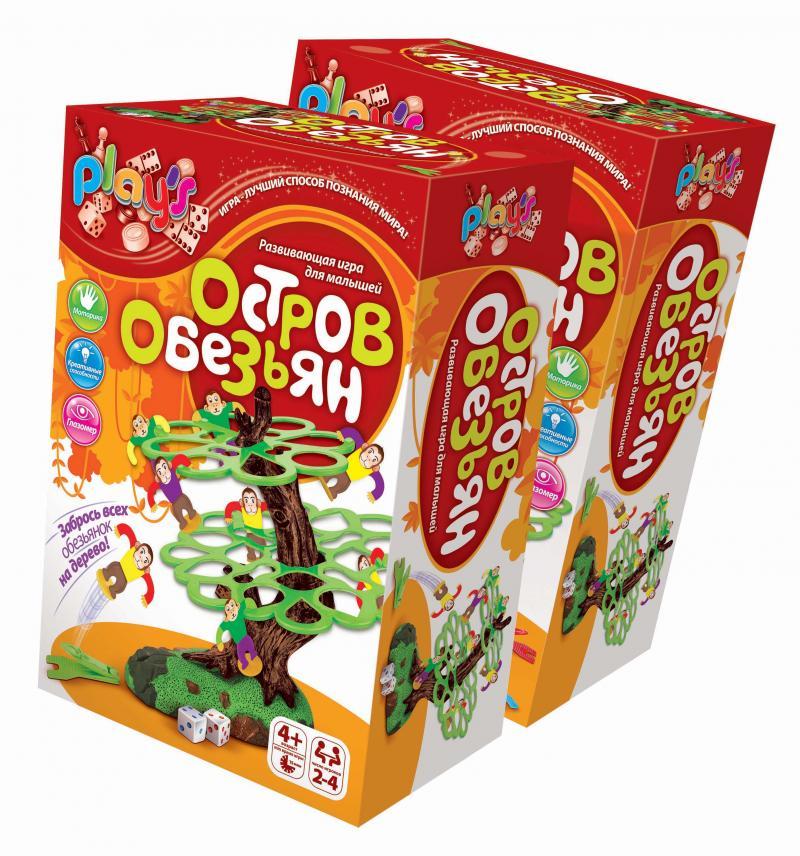 Игра Рlay`S Остров обезьян - Для детей старше 4 лет. Число игроков: 2-4 Время игры: 15 минут.