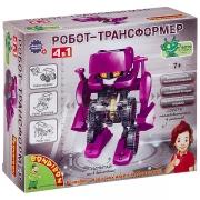 """BONDIBON Французские опыты Науки с Буки """"Робот трансформер 4 в 1"""
