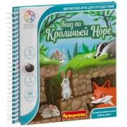 BONDIBON Магнитная игра для путешествий Вниз по кроличьей норе