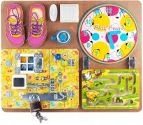 BusyBoard. Развивающая доска №2 арт.7903 для девочек