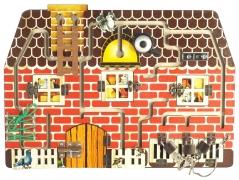"BusyBoard. Развивающая доска №4 арт.7905 ""Кошки-мышки"" (45х32)"