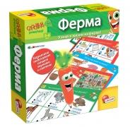 """LISCIANI. Обучающая игра """"Ферма"""" с интерактивной Морковкой"""