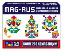 """MAG-RUS. Магнитная мозаика арт.103А . """"Мозаичные узоры"""" для разв"""