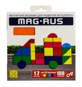 "MAG-RUS. Магнитная мозаика арт. 95А 108 эл. ""Транспорт"""