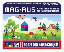 """MAG-RUS. Магнитная мозаика """"Деревенский домик"""""""