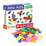 "MAG-RUS. Магнитная мозаика арт.NF1028 ""ВАЖНЫЙ ТРАНСПОРТ"""