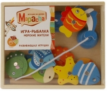 """MAPACHA. 76684 Игра-рыбалка """"Морские жители"""""""