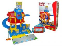 Wader. Паркинг 3-уровневый с автомобилями (в коробке)