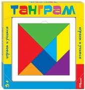 """Степ. Развивающая игра из дерева """"Танграм"""" арт.89812"""