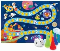 """ГеоДом. Игра-ходилка """"В космосе"""" с фишками для малышей"""