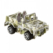 """Сборная 3D модель """"Внедорожник военный"""" с инерц механизмом"""