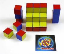 Уни-куб в коробке карт.