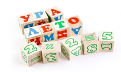 """Кубики """"Алфавит с цифрами"""" (Томик)"""