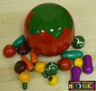 """Счетный материал """" В помидоре"""" (овощи)"""