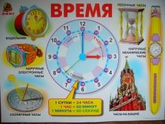 "Плакат ""Время"""