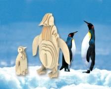 Сборная модель. Пингвин (дерево)