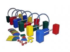 Мягкие спортивные модули - Набор игровой «На старт!»