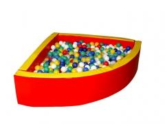 Сухой бассейн угловой R150*40